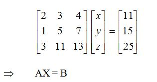 Find the solution of system of equations- MATHEMATICS-2